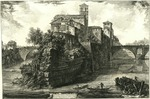 Veduta dell'Isola Tiberina by Giovanni Battista Piranesi