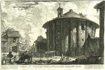 Veduta del Tempio di Cibele a Piazza della Bocca della Verita