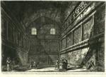 Veduta interna dell'antico Tempio di Bacco