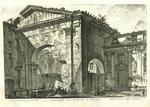 Veduta dell'Atrio del Portico di Ottavia by Giovanni Battista Piranesi