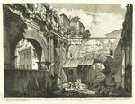 Veduta interna dell'Atrio del Portico di Ottavia by Giovanni Battista Piranesi