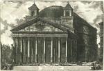 Veduta del Pantheon d'Agrippa oggi Chiesa di S. Maria ad Martyres by Giovanni Battista Piranesi