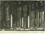 Veduta interna del Pronao del Panteon by Giovanni Battista Piranesi