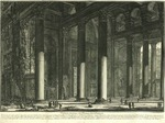 Veduta interna del Pronao del Panteon [Interior View of the Pronaos of the Pantheon]