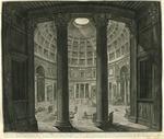 Veduta interna del Panteon by Giovanni Battista Piranesi