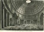 Veduta interna del Panteon volgarmente detto la Rotonda [Interior view of the Pantheon commonly known as the Rotonda]
