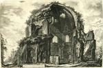 Veduta del Tempio ottangolare di Minerva Medica [View of the Octangular Temple of Minerva Medica]