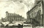 Veduta della Piazza del Campidoglio by Giovanni Battista Piranesi
