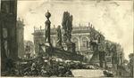 Veduta del Campidoglio di fianco [view of the Capitol from the Side]