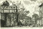 Veduta del Tempio di Giove Tonante [View of the Temple of Jove the Thunderer]