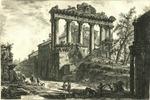Veduta del Tempio detto della Concordia by Giovanni Battista Piranesi