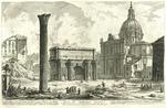 Arco di Settimio Severo by Giovanni Battista Piranesi