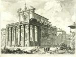 Veduta del Tempio di Antonino e Faustina in Campo Vaccino by Giovanni Battista Piranesi