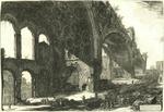 Veduta degli avanzi del Tablino della Casa Aurea di Nerone detti volgarmente il Tempio della Pace by Giovanni Battista Piranesi