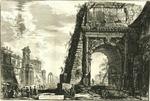 Veduta dell'Arco di Tito by Giovanni Battista Piranesi