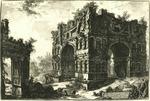 Tempio detto volgarmente di Giano by Giovanni Battista Piranesi