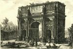 Veduta dell'Arco di Constantino [View of the Arch of Constantine]