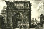 Veduta dell'Arco di Benevento nel Regno di Napoli [View of the Arch of Benevento in the Kingdom of Naples]