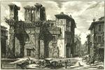 Veduta degli Avanzi del Foro di Nerva [View of the Remains of the Forum of Nerva]