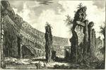 Veduta dell'interno dell'Amfiteatro Flavio detto il Colosseo [View of the interior of the Flavian Ampitheater called the Colosseum]