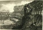 Veduta A l'Interna Del Colosseo [View of the interior of the Colosseum]