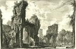 Rovine del Sisto, o sia della gran sala delle terme Antoniane by Giovanni Battista Piranesi