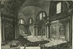 Veduta interna della Chiesa della Madonna degli Angeli detta della Certosa che anticamente era la principal Sala delle Terme di Diocleziano.