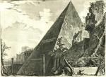 Piramide di C. Cestio by Giovanni Battista Piranesi