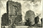 The Tombs of Licinianus and the Cornelii by Giovanni Battista Piranesi