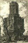 Avanzi di un antico Sepolcro, oggi detto la Conocchia by Giovanni Battista Piranesi