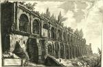 Avanzi della Villa di Mecenate a Tivoli construita di travertini a opera incerta by Giovanni Battista Piranesi