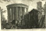 Veduta del Tempio della Sibilla in Tivoli