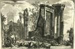 Altra Veduta del Tempio Della Sibilla in Tivoli [Another view of the Temple of Sibyl in Tivoli]