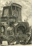 Altra Veduta del tempio della Sibilla in Tivoli