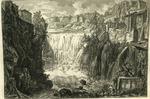 Veduta della Cascata di Tivoli [View of the Waterfall of Tivoli]