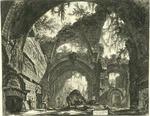 Rovine d'una Galleria di Statue nella Villa Adriana a Tivoli