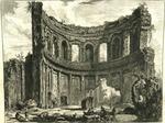 Avanzi del Tempio detto di Appollo nella Villa Adriana vicino a tivoli