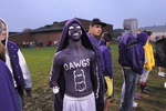 Fan with body paint at Friday Night Football