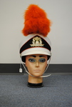 Mannequin displaying a cheerleading hat