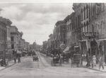 Old black and white photo of Main Street