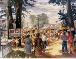 Painting of Mount Vernon Fair