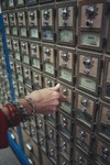 Mailboxes at the Post Office