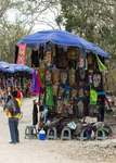 T-shirts sold to tourists at Chichén Itzá March 10, 2018