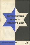 Anti-Semitism: What it means to you by William Gallacher