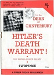 Hitler's Death Warrant