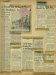 Newspaper Clippings for the Old Kenyon Fire Feb. 1949