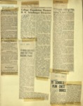 Newspaper Clippings Aug.-Dec. 1951