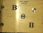 Beta Theta Pi Scrapbook c1917