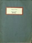 Earl D. Babst Scrapbook 1887-1889