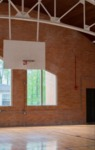 The gym at the Escape Zone, in the former Armory Building (Karen Bush)